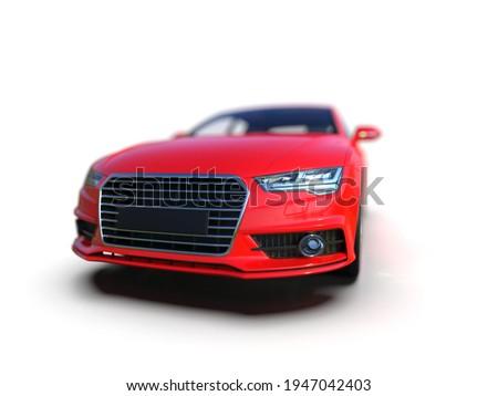 Audi A7 Isolated on White Executive Car Mid-size Luxury Car, German Liftback, Premium Car Sportback, Coupe, Sportback,Audi AG is a German Automobile Manufacturer