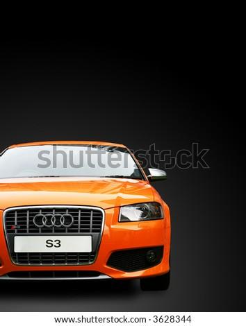 Audi S3 copyspace - stock photo