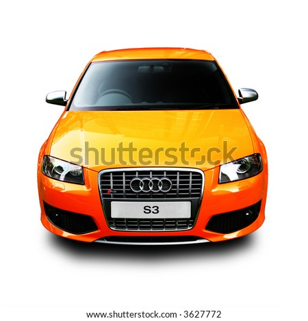 Audi S3 Isolated