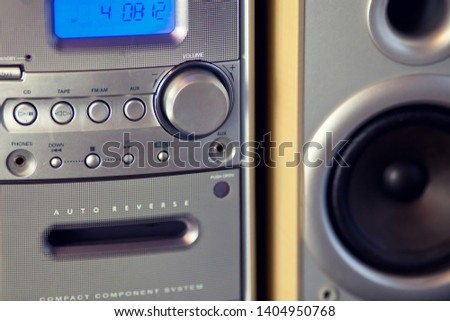 Audio Compact Component Mini Stereo System