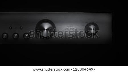 Audio equipment,Audio amplifier,DENON