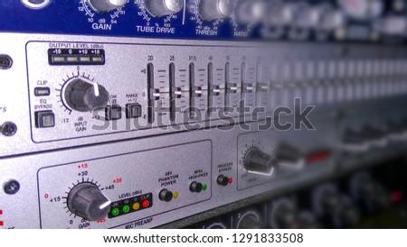 Audio equipment for audio recordings