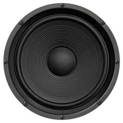 Audio equipment, speaker on white background