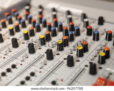 Audio Equipment with selective focus