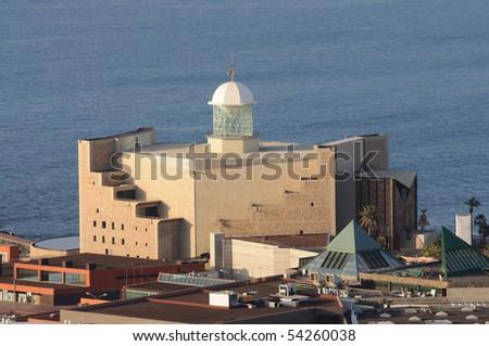 Auditorio Alfredo Kraus, Grand Canary Island, Spain - stock photo