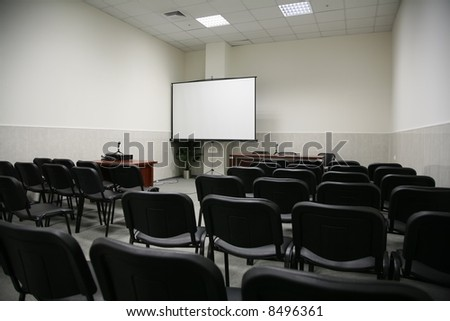 auditorium 2 - stock photo