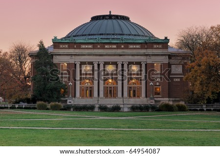 Auditorium at the University of Illinois at Urbana-Champaign