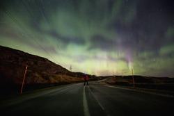 Aurora Borealis in Norway - Northen lights.
