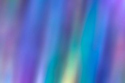 Aurora borealis iridescent holographic abstract background. Trendy phone wallpaper or a screen saver