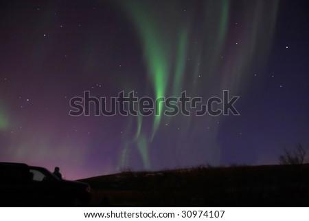 Aurora watching, Reykjavik Iceland