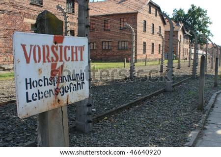 Auschwitz Death-camp in Poland