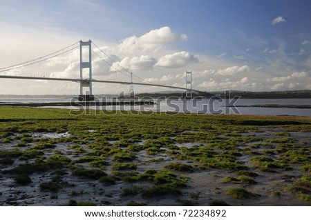 Aust Rock & The Severn Bridge