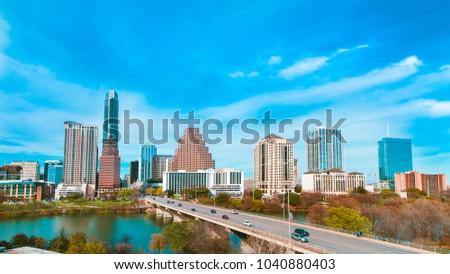 Austin Downtown cityscape
