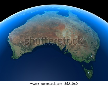 Australia as seen from Space