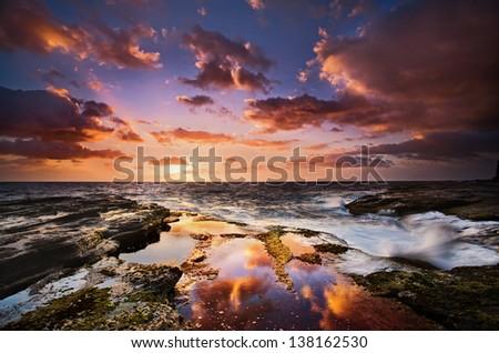 Australia Cloud Reflections