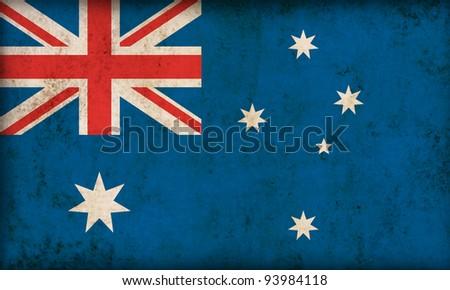 Australia flag background