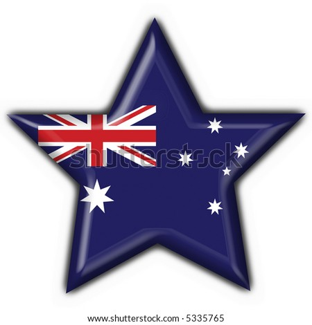 Australian button flag star shape