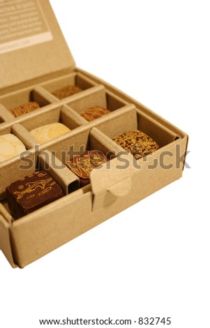 Australian Chocolate Truffles in a box