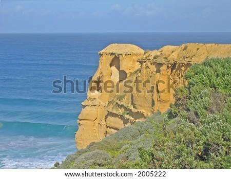 Australian coastline view (Great Ocean Road, Victoria, Australia)