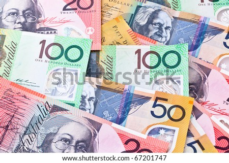 Australian currency banknotes