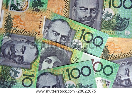 Australian 100 Dollar Bills Stock Photo 28022875 : Shutterstock