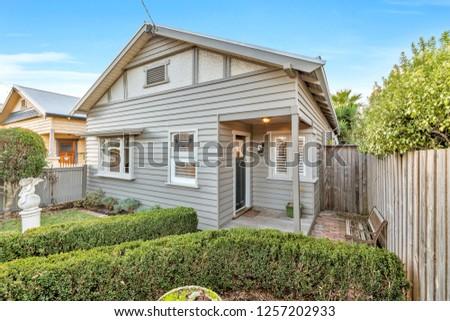 Australian House Fascade #1257202933