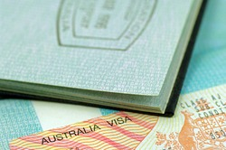 Australian immigration visa and passport