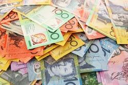Australian Money - Aussie currency background