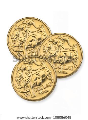 Australian one dollar coins