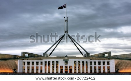 Australian Parliament House for the Federal Government in Canberra
