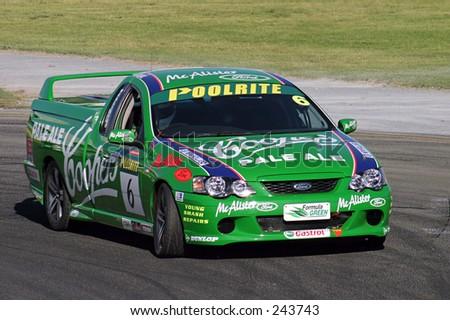 Australian V8 'Brute' series - racing utes at the Clipsal 500, Adelaide