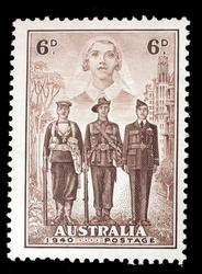 Australian war postage stamp