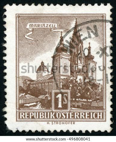 austria   circa 1959  stamp...
