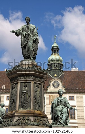 Austria. Vienna. The central part of the city. - stock photo