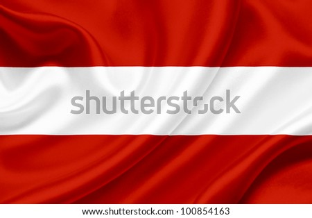 Austria waving flag