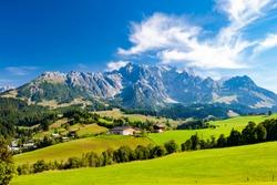 Austrian Alps nearby Arturhaus and Bischofshofen