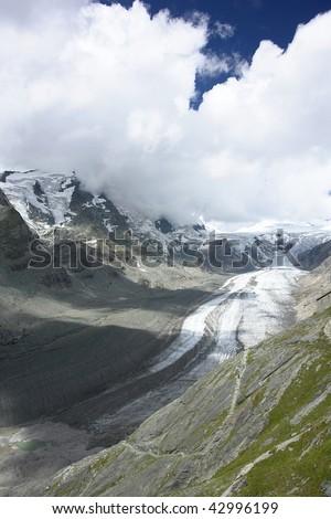 Austrian Alps / Pasterze glacier (National Park Hohe Tauern in Austria)