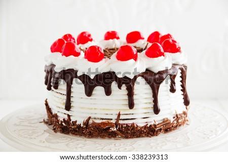Austrian Black Forest cake.