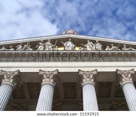Austrian Parliament in Vienna - 