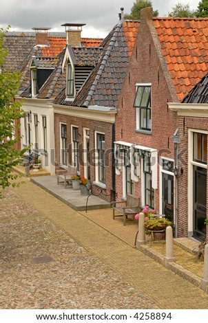 authentic brick houses in Europe