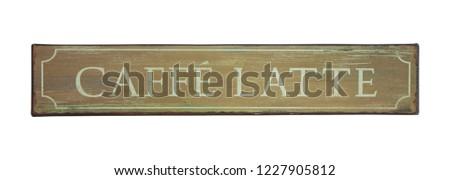 Tin sign Images and Stock Photos - Avopix com