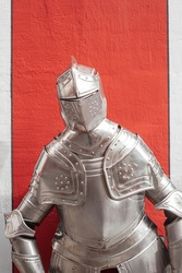 Authentic Medieval Suit of Armour for Knights in Germany
