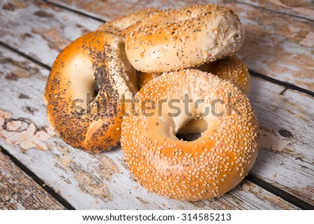 Shutterstock Authentic New York Style bagels