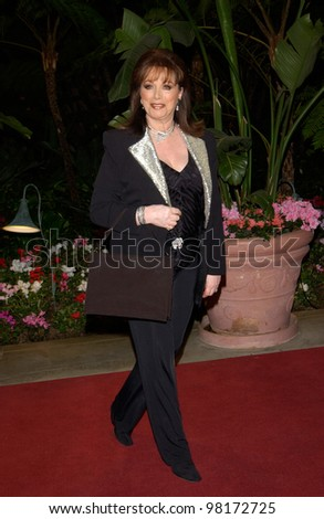 Author JACKIE COLLINS at pre-Grammy party given by Clive Davis of J Records at the Beverly Hills Hotel. 25FEB2002   Paul Smith / Featureflash