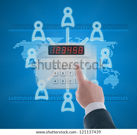 Authorized access to the social network in digital age