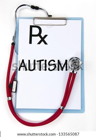 AUTISM diagnosis sign