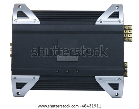 Auto audio amplifier for cars