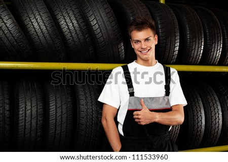 Auto mechanic recommend tire to choose for car