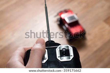 auto radio control Stock photo ©