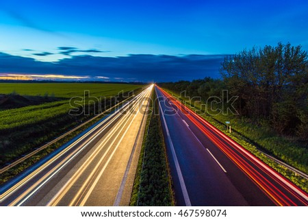Autobahn - Germany #467598074